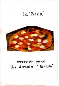 """""""Pizza"""" from my mother pages in the recipe book"""