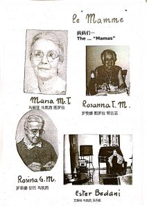 From top left, Mother, G.Mother, G.G.Mother, G.Aunt